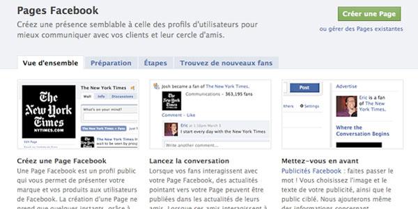 Créer une page sur Facebook Pour son Entreprise