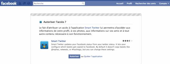 Smart-Twitter-for- Pages-autoriser-acces