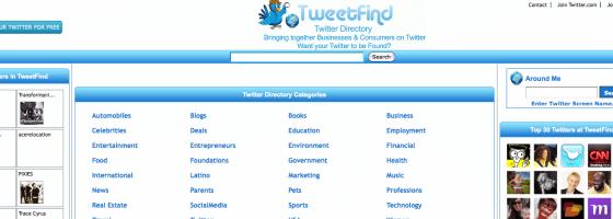 tweetfind-annuaire-twitter-reseau-social