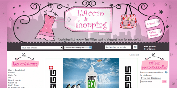 E-commerce-Peggy-Andre-accro-du-shopping