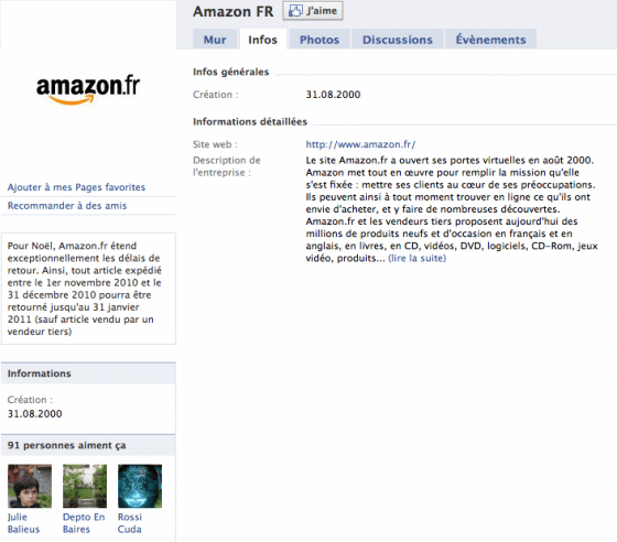 page-facebook-entreprise-amazon