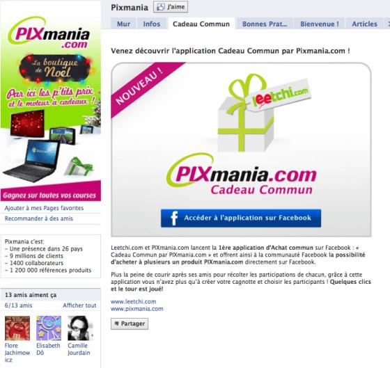 page-facebook-entreprise-vente-pixmania