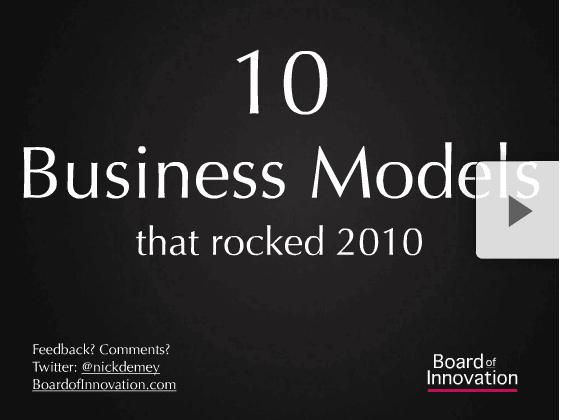 10 Business Modèles Gagnants En 2010