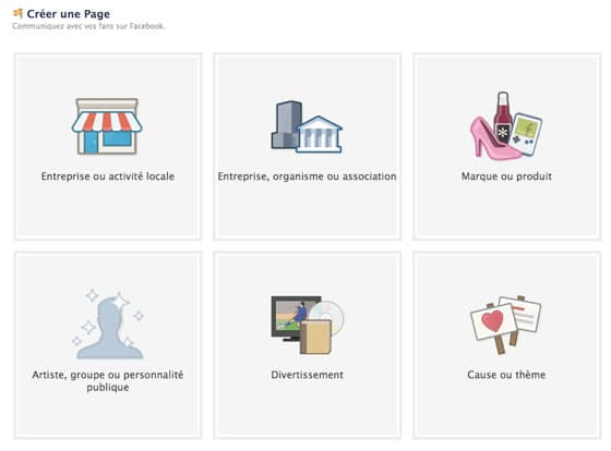 interface-creation-page-facebook
