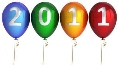 Tous mes voeux de réussite pour 2011 :)