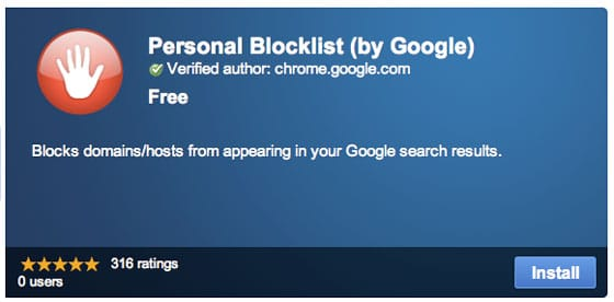 personal-blocklist-google-chrome