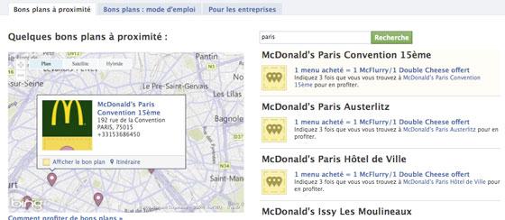 comment trouver des bons plans avec facebook