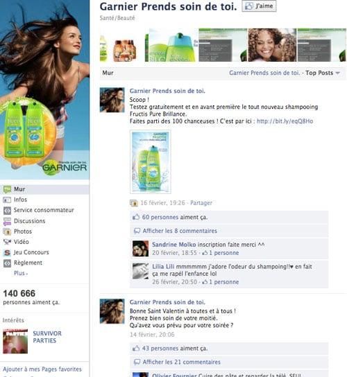 garnier-page-facebook