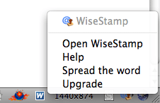 installez-wisestamp-gmail