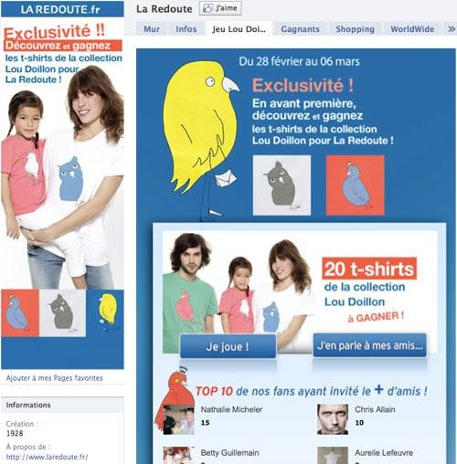 la-redoute-page-facebook