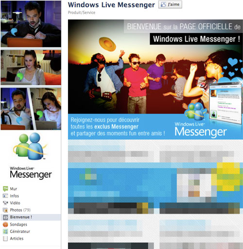 windows-live-messenger-facebook-page