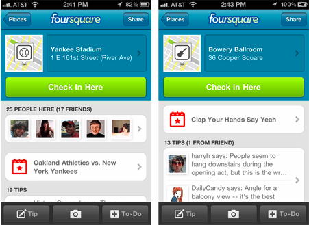 foursquare-checkin-events