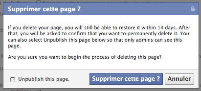suppression-pages-facebook-depublier