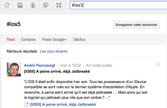 google-plus-hashtag