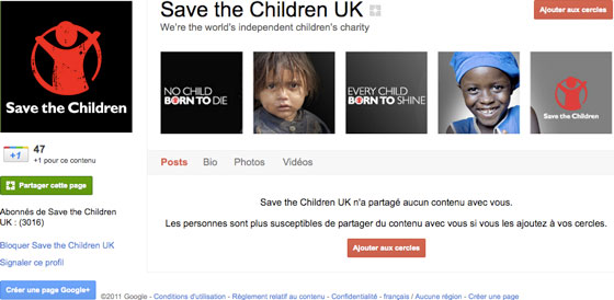 save-the-children-pages-google-plus-entreprises-google
