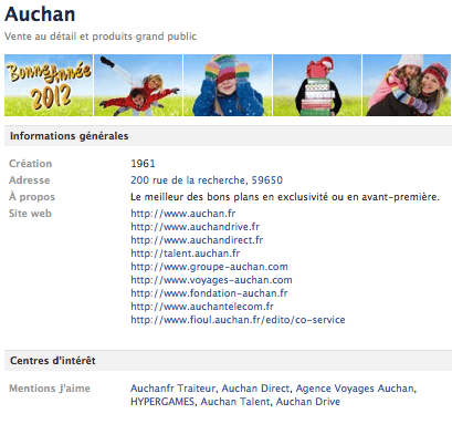 auchan-page-facebook-onglet-info
