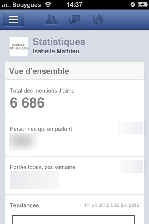 facebook-application-statistiques