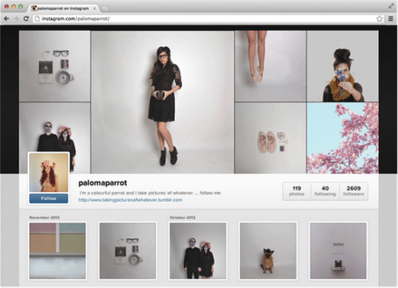 Les Profils Instagram Arrivent En Version Web