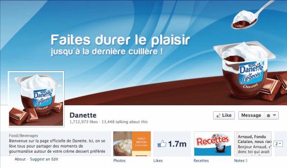 Page-facebook-Danette