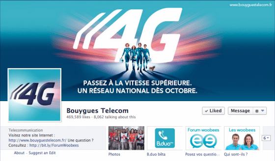 page-facebook-Bouygues-Telecom