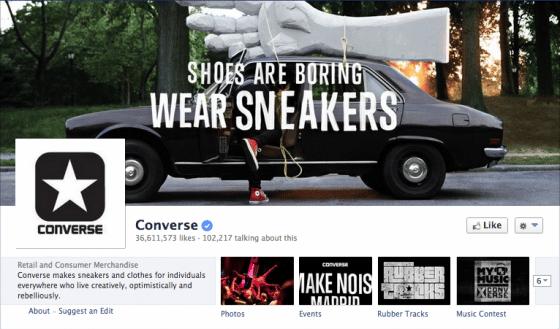page-facebook-Converse