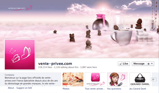 page-facebook-vente-privee