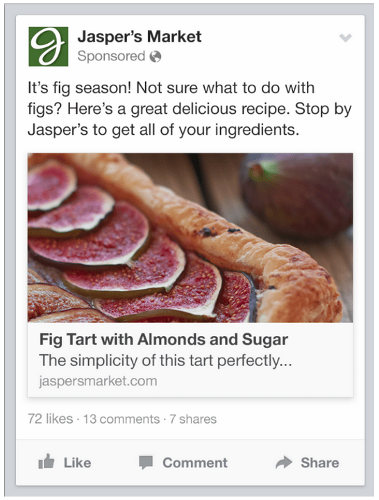 facebook-Page-post-link-ad-mobile