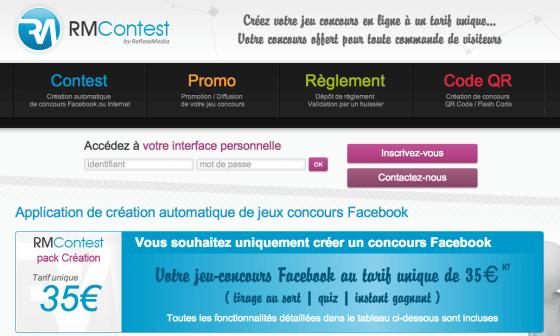 RMContest-application-facebook