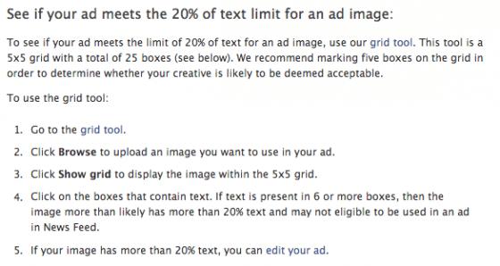 pub-facebook-regle-texte-annonces