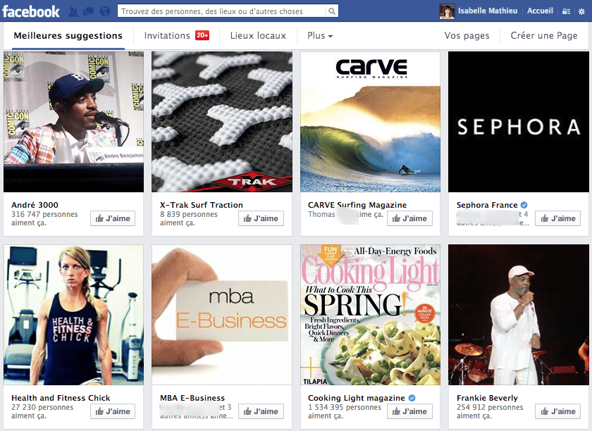 Pages-facebook-suggerees