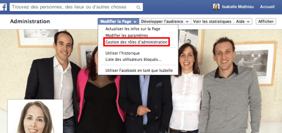 gestion-roles-administration-page-facebook