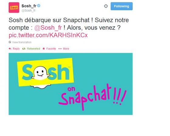 Tweet-Snapchat