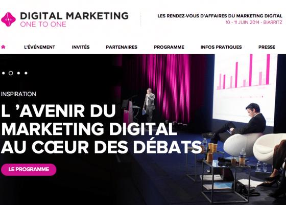 Le Digital Marketing One to One à #Biarritz : 10 et 11 juin #DM1to1 [Agenda]