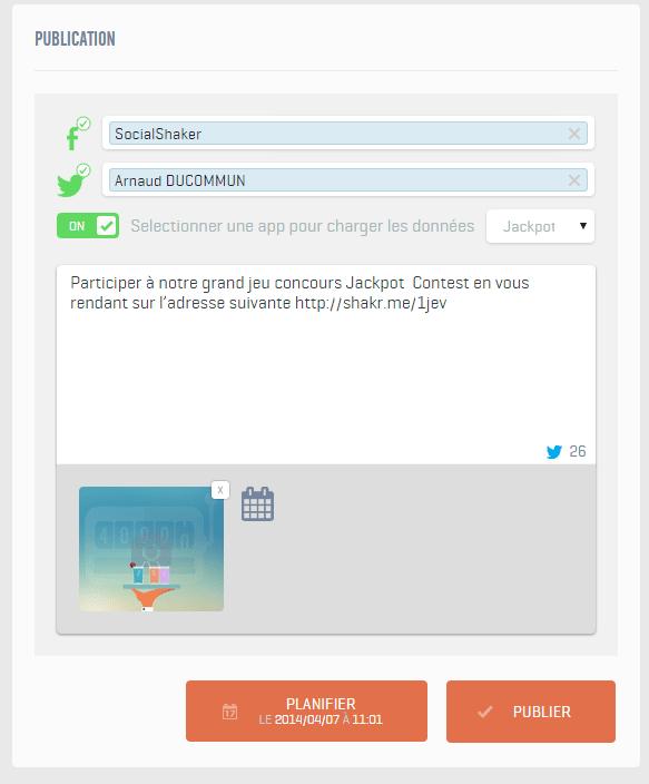 module publication socialshaker