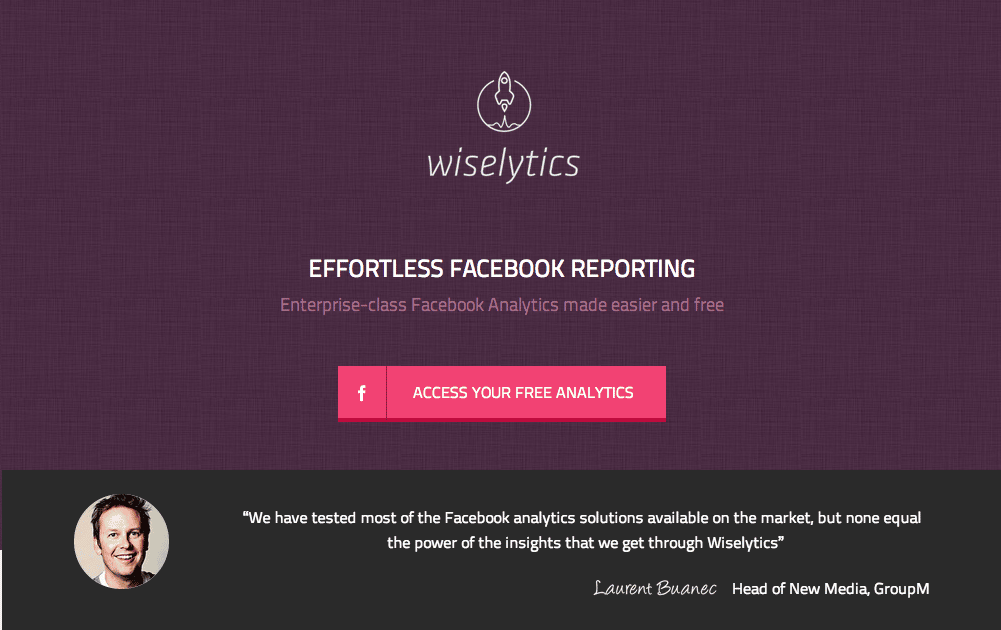 wiselytics statistiques pages-facebook