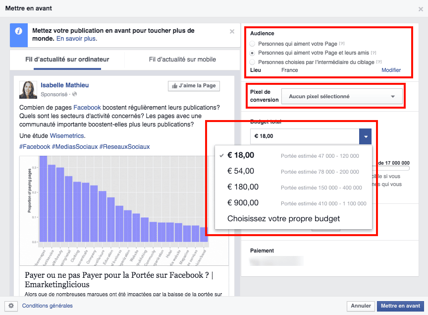 audience-pixel-budget-mettre-avant-publication-facebook