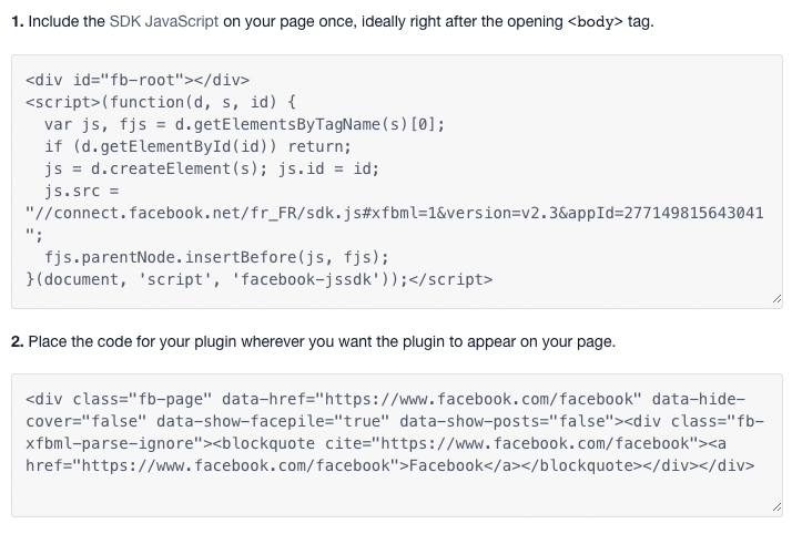 facebook-page-plugin-installation