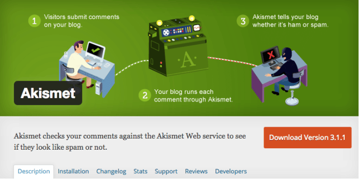 plugin-wordpress-askimet