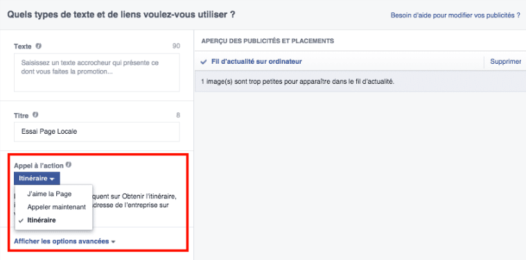 local-awareness-sensibilisation-locale-annonce-facebook-appeler-maintenant