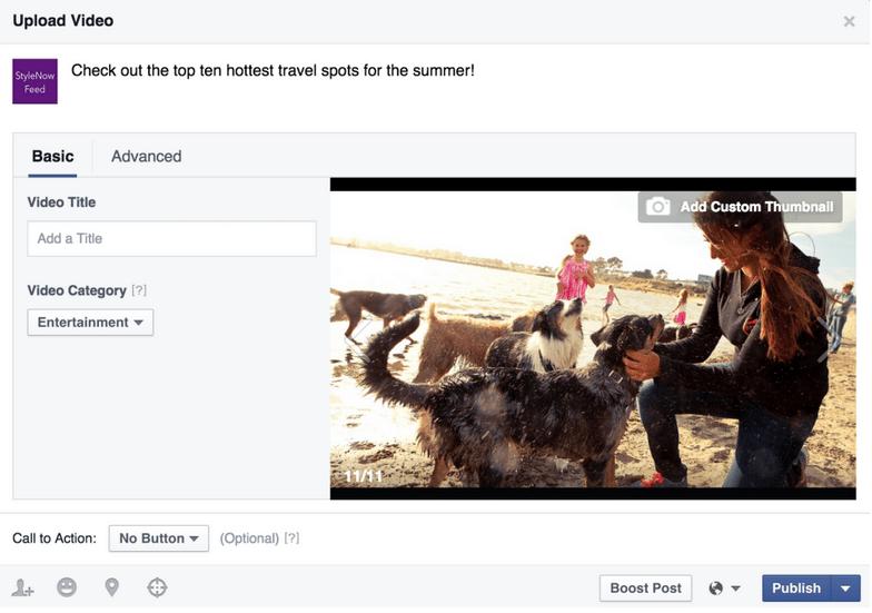 Facebook Introduit les Vidéos Secrètes et des Outils pour Gérer les Vidéos