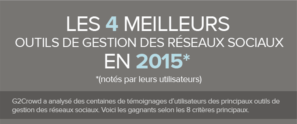 Les 4 Meilleurs Outils de Gestion de Réseaux Sociaux en 2015