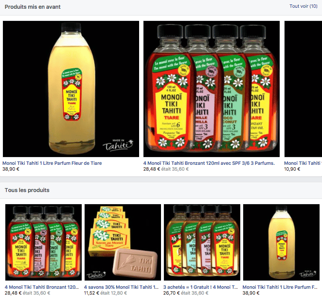 boutique-facebook-produits-mis-en-avant
