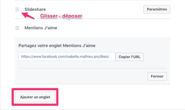 facebook-modele-page-facebook-template-options