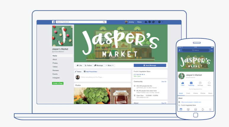 formation facebook page entreprise