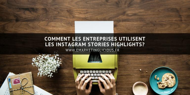Instagram Stories Highlights a la une