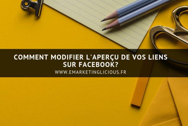 modifier apercu vignette lien facebook