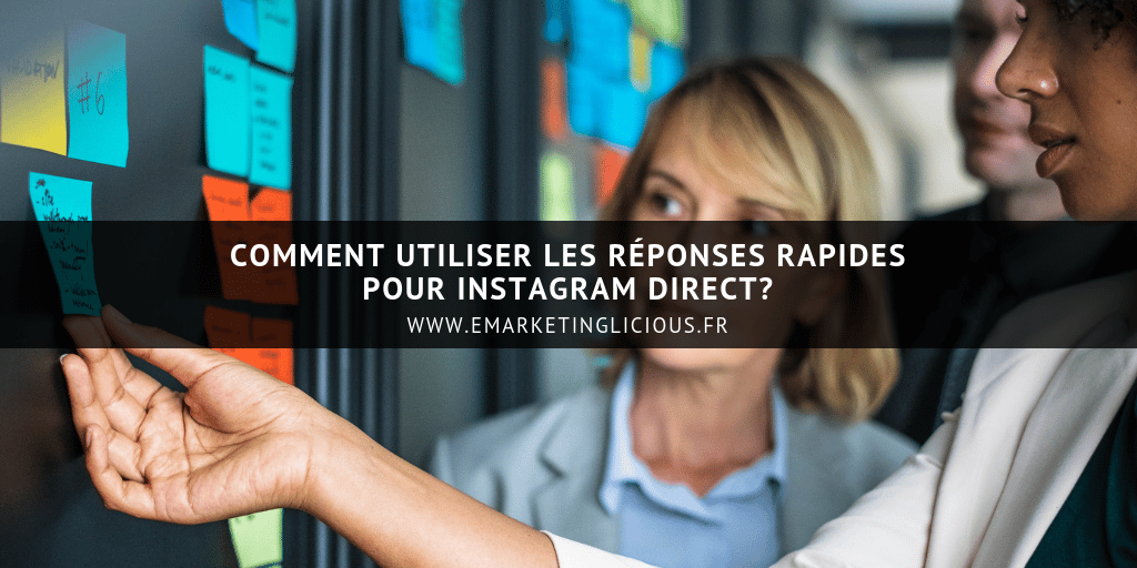 reponses rapides instagram direct