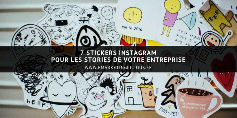 stickers instagram stories entreprises