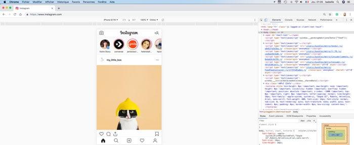 publier story instagram ordinateur bureau-fichier