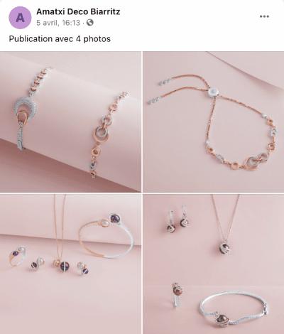 publication facebook 4 images